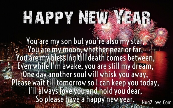 Happy New Year Son And Best Advices