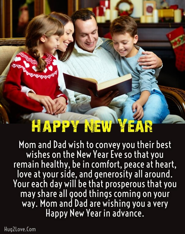 Happy New Year Son Wishes
