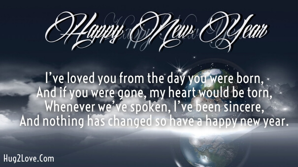 Happy New Year To Son Greetings