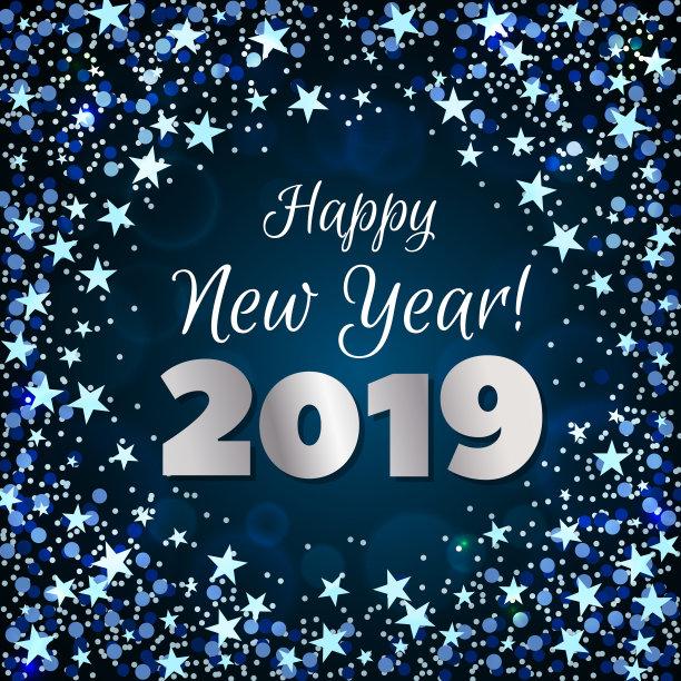 New Year 2019 Unique Bg Picture