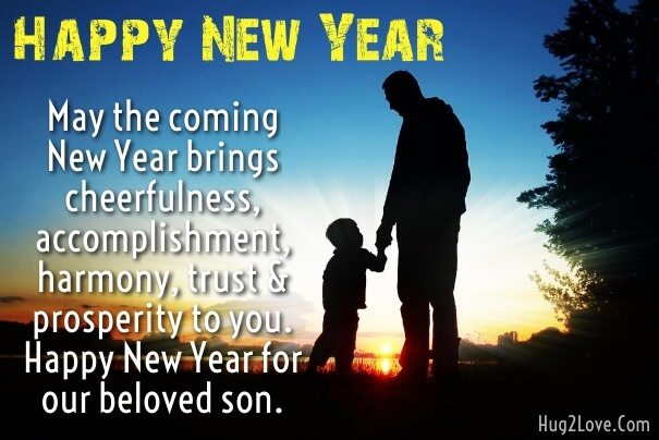 New Year 2019 Wishes For Son