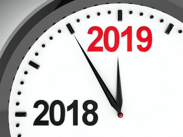 New Year 2019 Countdown Clock Hd