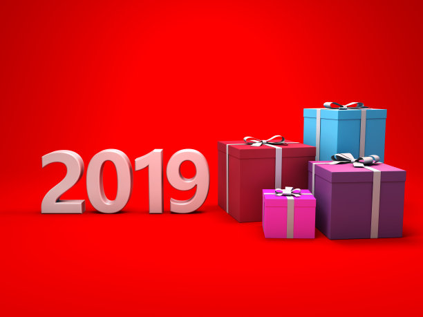 New Year 2019 Free Gift Card Wallpaper