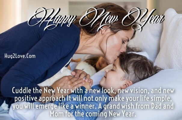 new year wishes for son from mother