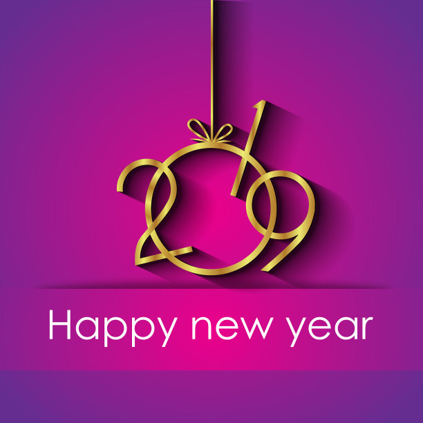 Stylish Happy New Year 2019 Picture