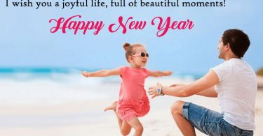 Happy New Year Wishes For Daughter 1